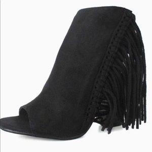 Coconuts By Matisse Love Fringe Black Booties 9